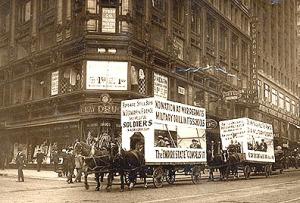 Anti Conscription Parade, 1916, NYC
