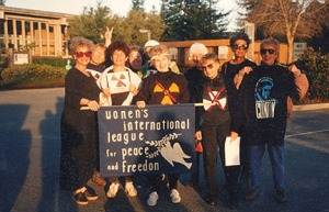 Livermore Lab Protest, 1995