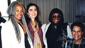 WILPF President Betty Burkes Honored by NYC Branch, 1996