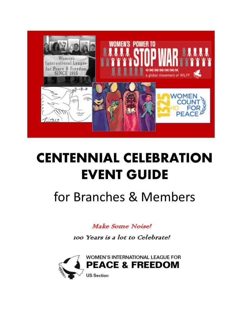 Centennial Event Guide Cover