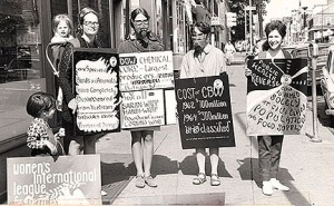 Chemical Weapons Protest, 1960s Germantown, PA