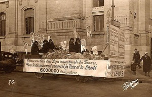 Disarmament Petition Float, 1932, Geneva