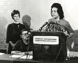 WILPF Member Coretta Scott King, 1968.