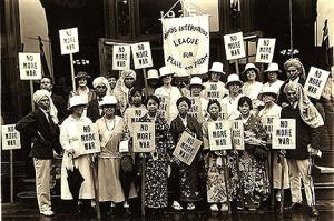 No More War Protest, Philadelphia, 1920s