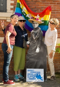 Santa Cruz WILPF with Jane Addams.  Get On The Train With Jane, 2015