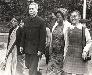 Vietnam Delegation, Hanoi, 1973